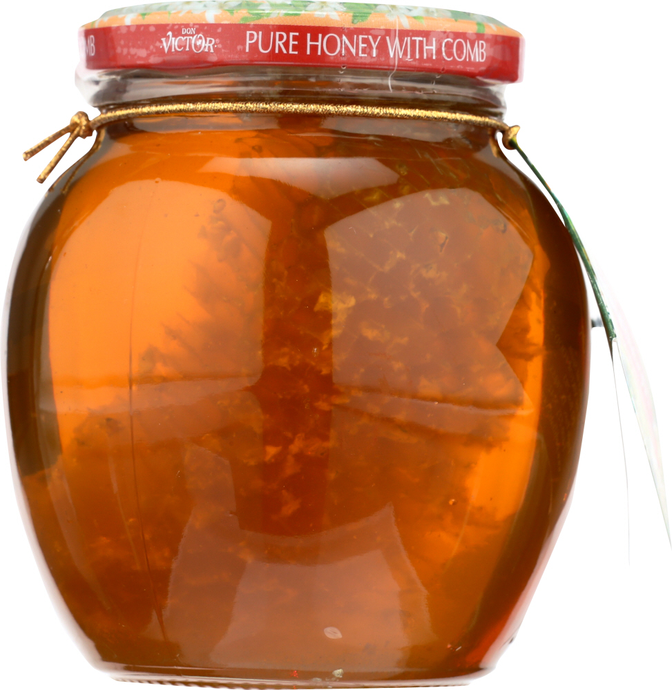 DON VICTOR: Honey and Comb, 16 oz