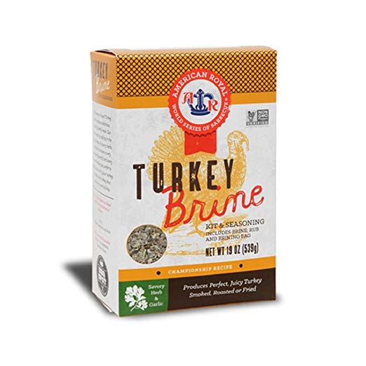 AMERICAN ROYAL: Brine Kit Turkey, 19 oz