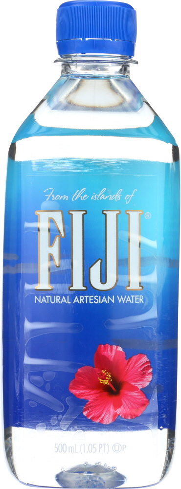 FIJI WATER: Natural Artesian Water, 0.5 lt