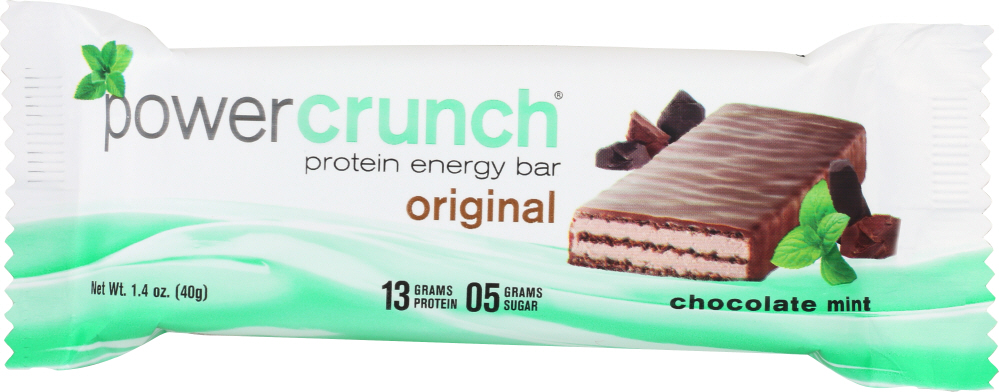 POWER CRUNCH: Bar Protein Chocolate Mint, 40 gm
