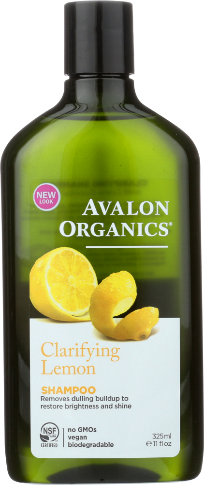 AVALON ORGANICS: Shampoo Clarifying Lemon, 11 oz