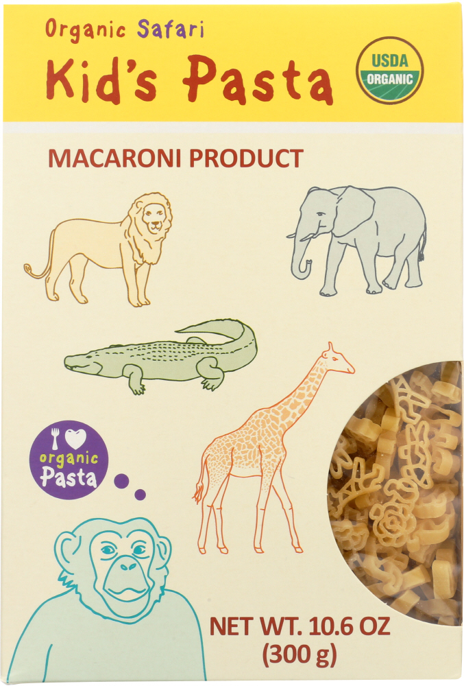 ALB GOLD: Pasta Kids Safari Shapes Organic, 10.6