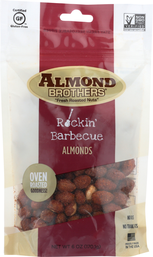 ALMOND BROTHERS: Nut Almond Barbecue, 6 oz