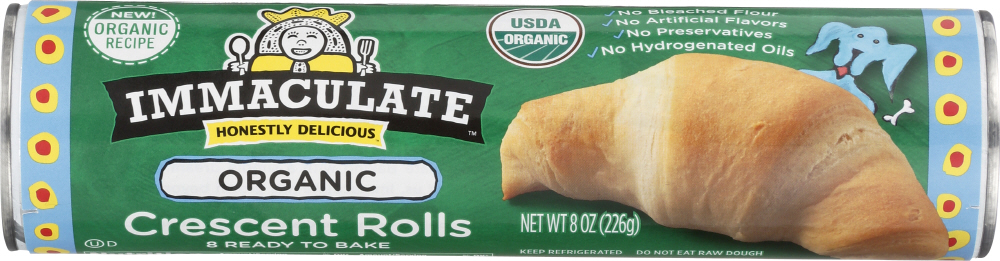 IMMACULATE BAKING: Crescent Rolls, 8 oz
