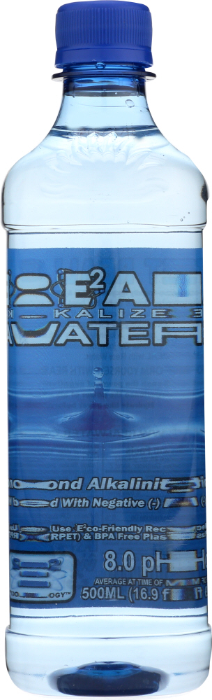 REAL WATER: Alkalized Antioxide Water, 16.9 oz
