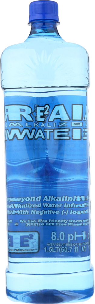 REAL WATER: Water Alkalized, 1.5 l