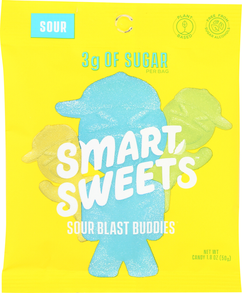 SMARTSWEETS: Sour Blast Buddies Candy Single Pouch, 1.8 oz