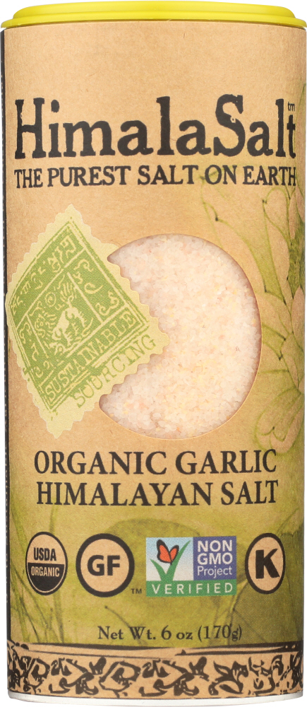 HIMALA SALT: Shaker Garlic, 6 oz