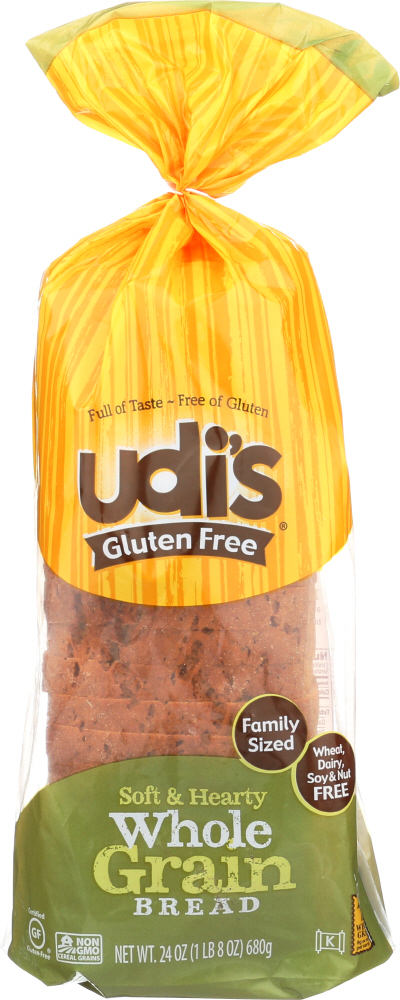 UDIS: Whole Grain Bread, 24 oz