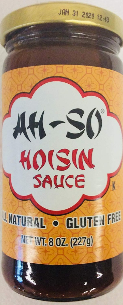 AH SO: Hoisin Sauce Natural Gluten Free, 8 oz