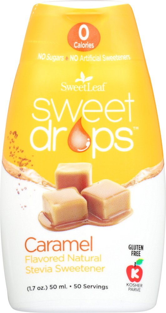 SWEETLEAF STEVIA: STEVIA SWEET DROP CARAMEL (1.700 OZ)
