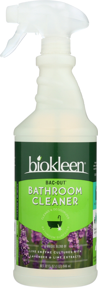 BIOKLEEN: Bac-Out Bathroom Cleaner, 32 oz