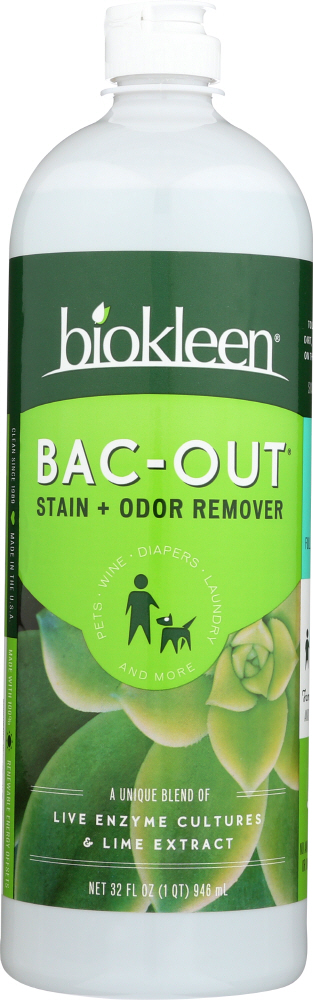 BIO KLEEN: Bac Out Stain And Odor Eliminator, 32 oz