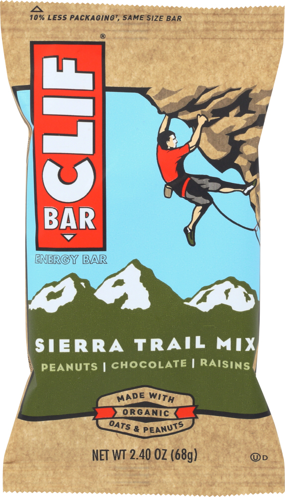 CLIF BAR: Sierra Trail Mix Energy Bar, 2.4 oz