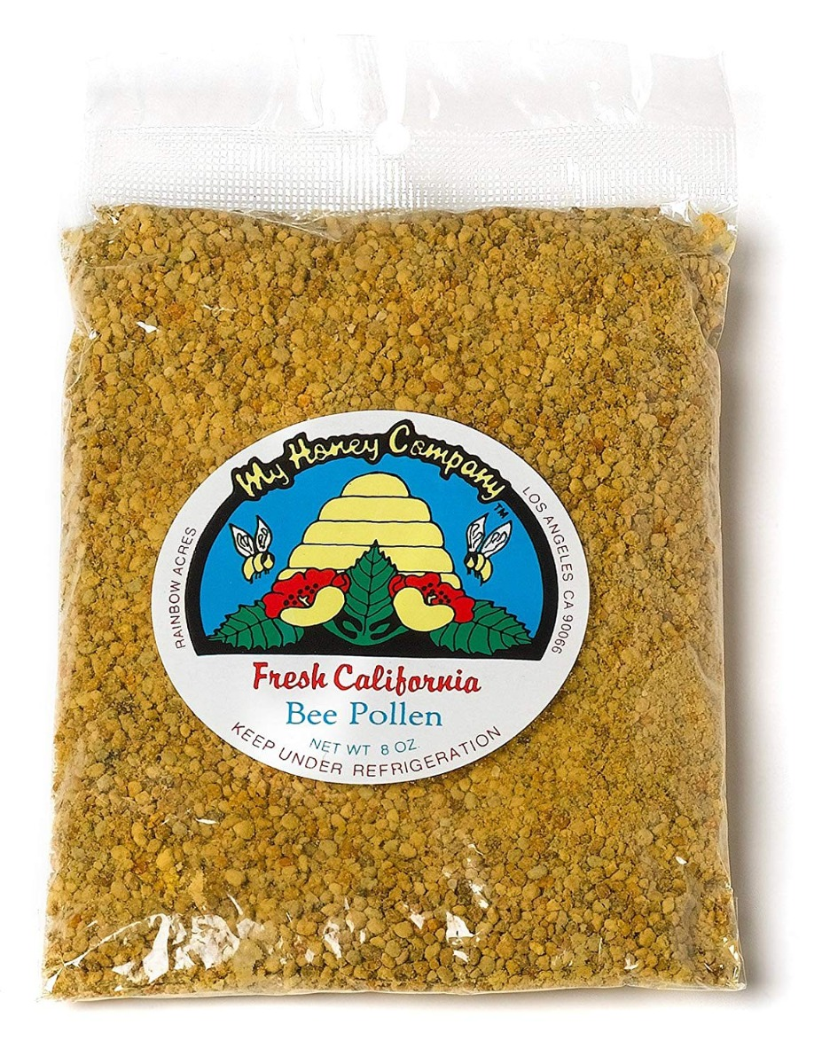 MY HONEY: Bee Pollen-Fresh California, 8 oz