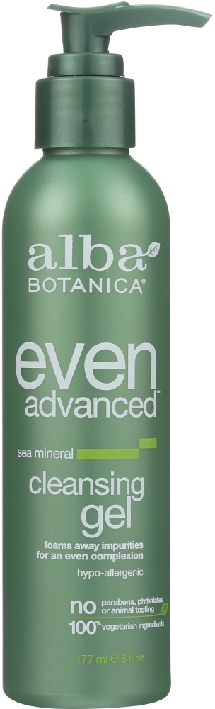 ALBA BOTANICA: Even Advanced Cleansing Gel Sea Mineral, 6 oz