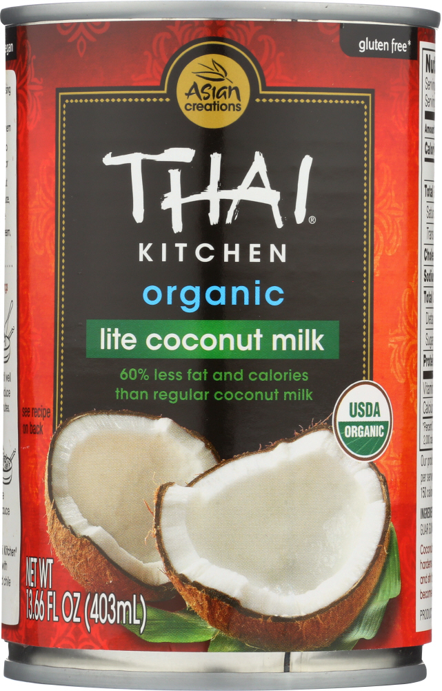 THAI KITCHEN: Organic Coconut Milk Lite, 14 oz