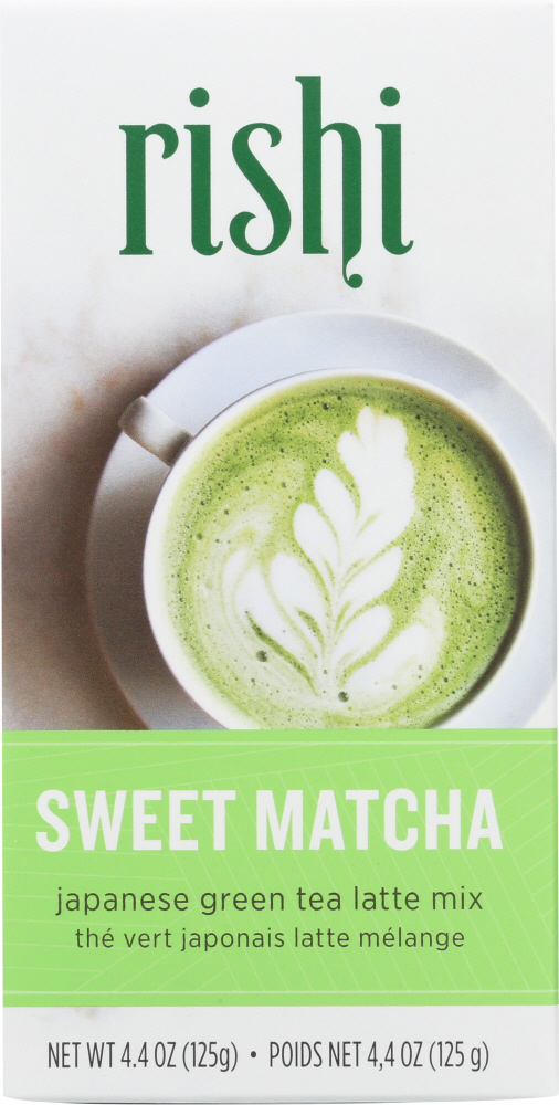 RISHI TEA: Sweet Matcha Japanese Green Tea Powder, 125 gm