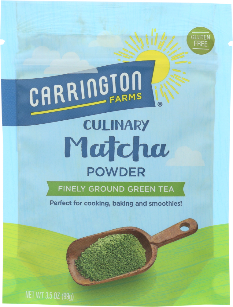 CARRINGTON FARMS: Matcha Tea Powder, 3.5 oz