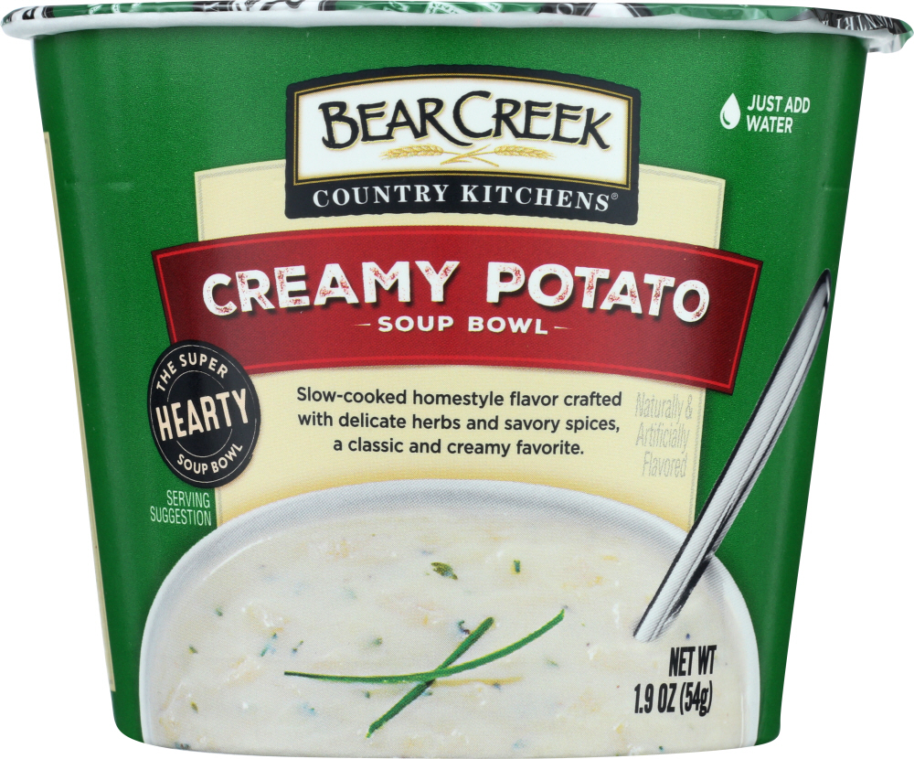 BEAR CREEK: Creamy Potato Soup Bowl, 1.9 oz