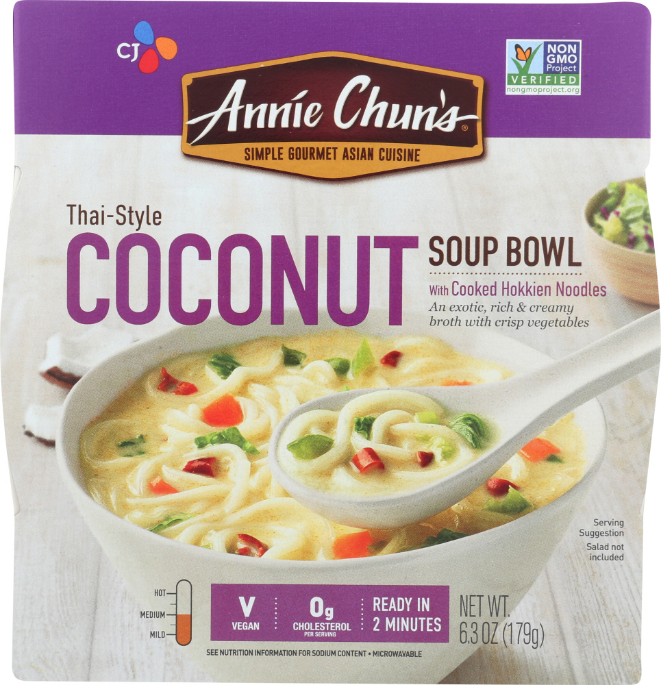 ANNIE CHUNS: Thai Style Coconut Soup Bowl, 6.3 oz