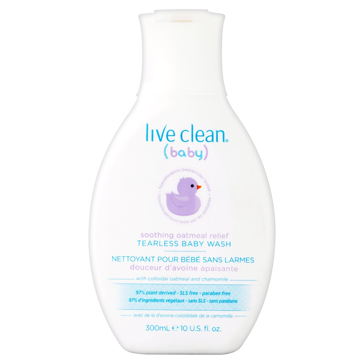 LIVE CLEAN: Wash Baby Soothing Relief, 10 oz