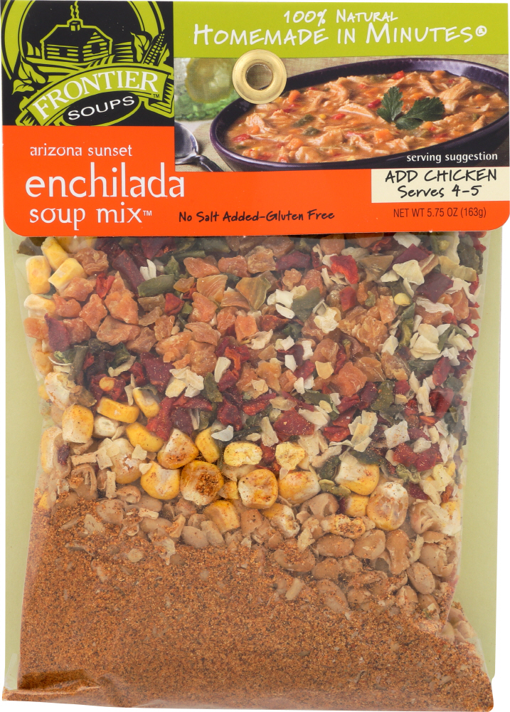 FRONTIER SOUP: Arizona Sunset Enchilada Soup Mix 5.75 Oz