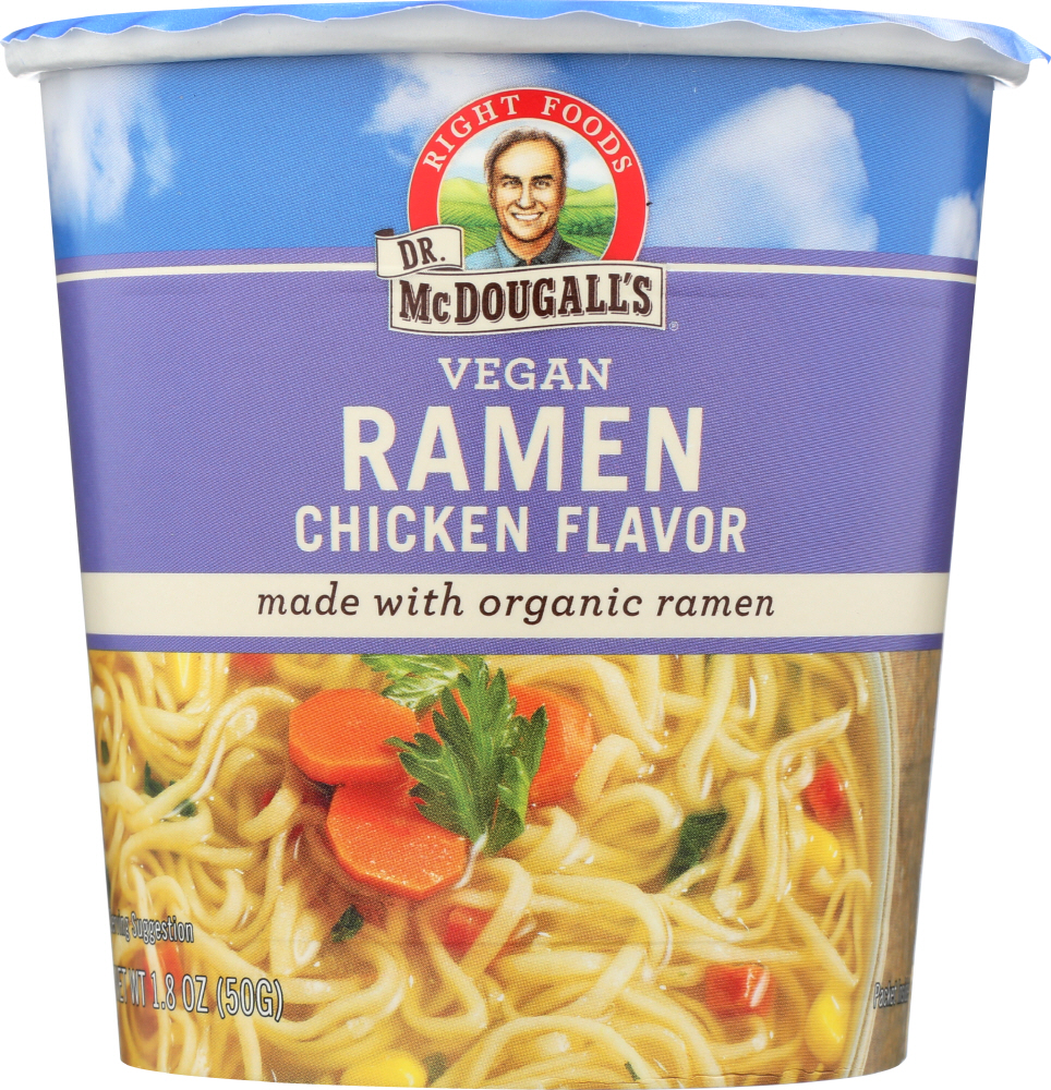 DR MCDOUGALL'S: Ramen Soup Vegan Chicken, 1.8 oz