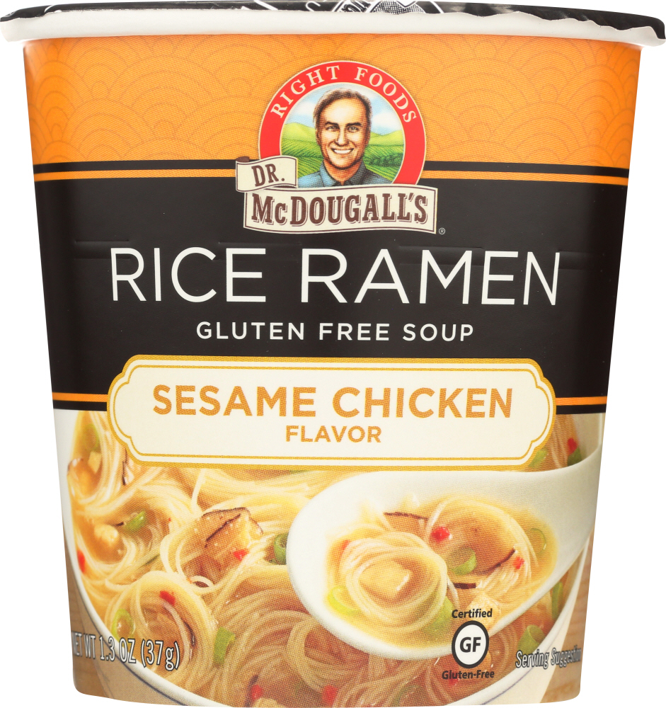 DR. MCDOUGALL'S: Sesame Chicken Rice Ramen Soup, 1.3 oz