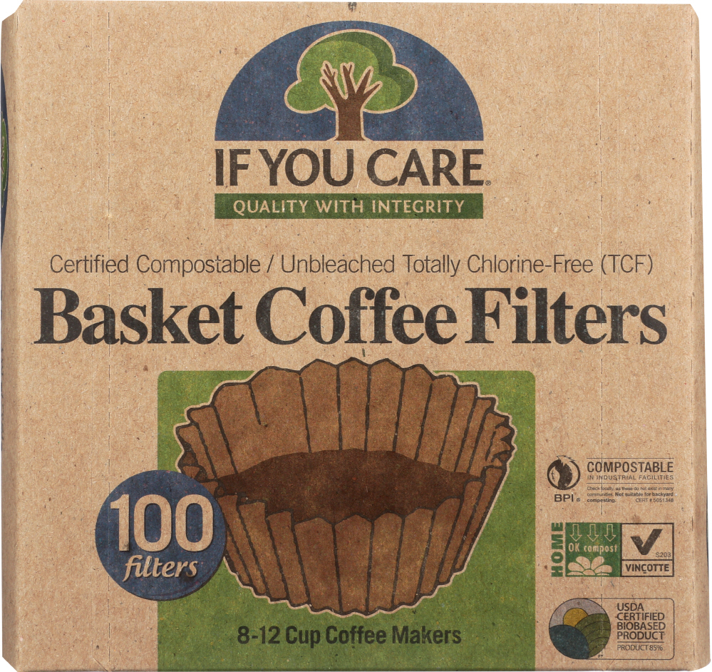 IF YOU CARE: Coffee Filters, 100 Count
