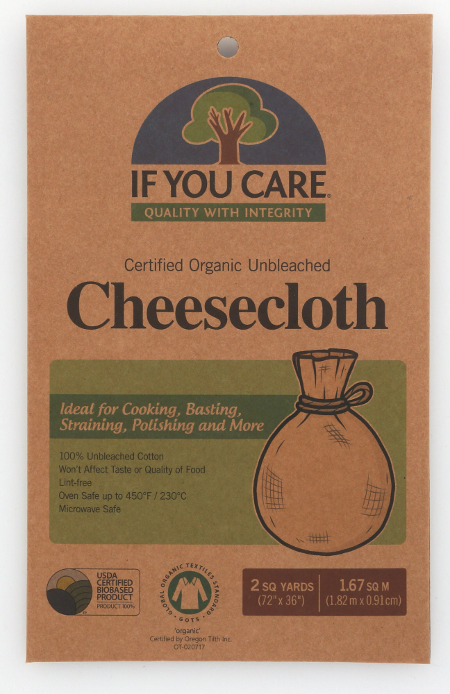 IF YOU CARE: Cheesecloth 2 Square Yards, 1 pc