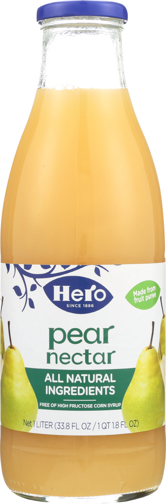 HERO: Nectar Pear, 33.75 oz