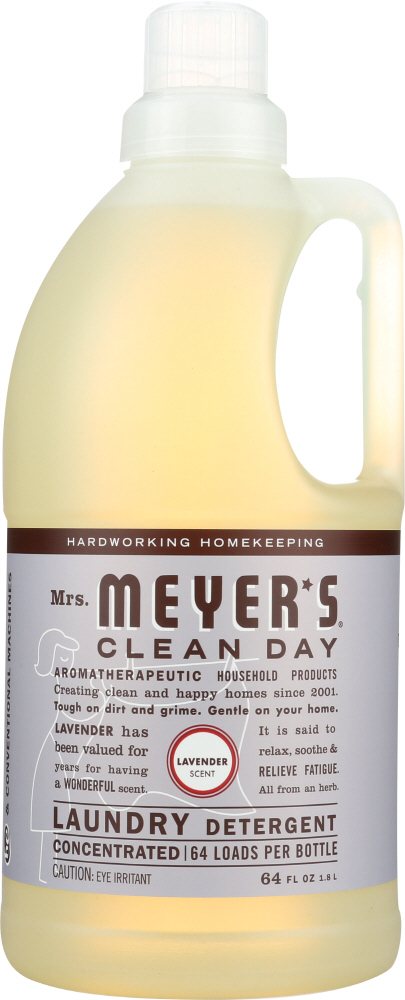 MRS MEYERS CLEAN DAY: Laundry Detergent Lavender Scent, 64 oz