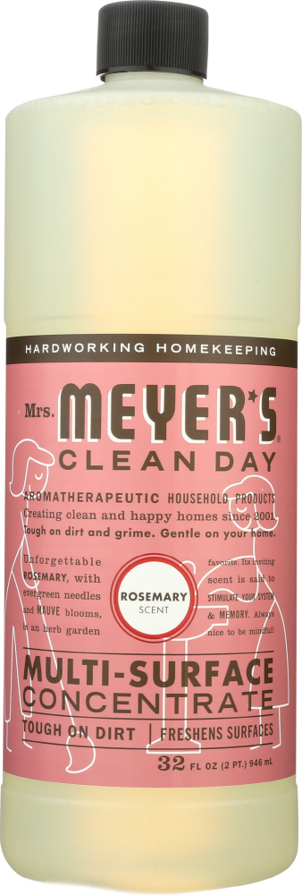 MRS MEYERS CLEAN DAY: MULTI CLNR CONC ROSEMARY (32.0000 OZ)