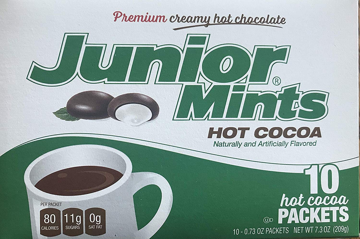 COCOA HOT TOOTSIE ROLL: Hot Cocoa Junior Mints Pack, 10 pc