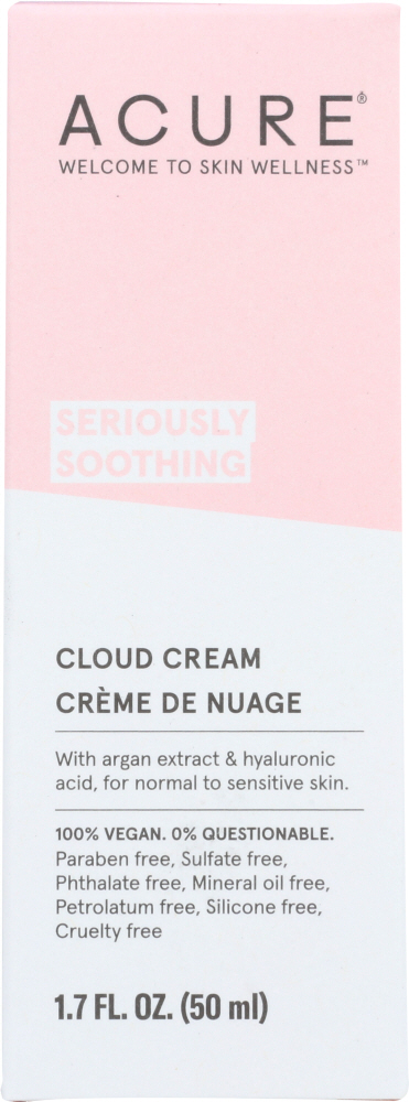 ACURE: Facial Cloud Cream Soothing, 1.7 fo