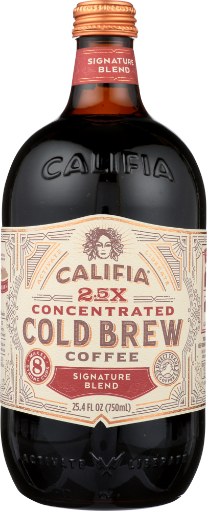 CALIFIA: Concentrated Cold Brew Coffee Signature Blend, 25.4 oz