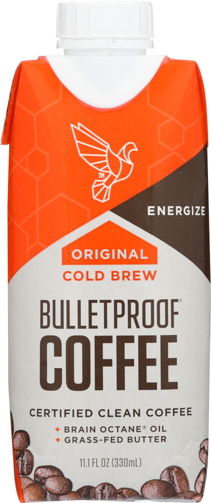 BULLETPROOF: Coffee Cold Brew Original Unsweetened, 11.1 fo