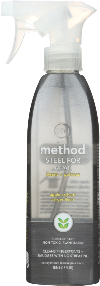 METHOD HOME CARE: Steel for Real Apple Orchard, 12 oz