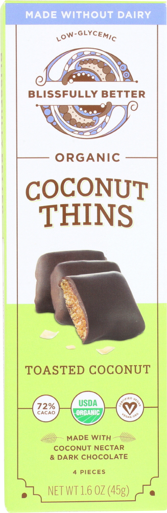 BLISSFULLY BETTER: Toasted Coconut Chocolate, 1.6 oz