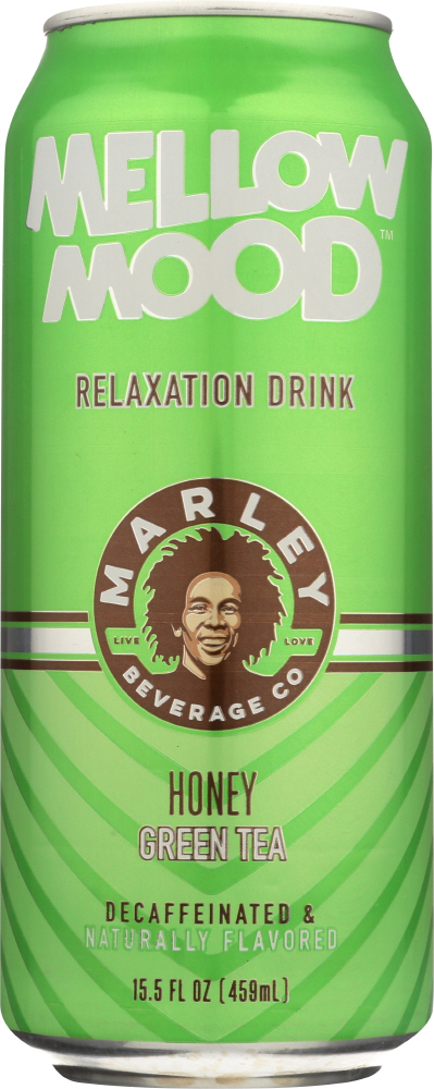 MARLEYS MELLOW MOOD: Honey Green Tea, 15.5 fo