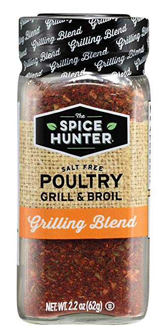 SPICE HUNTER: Grill & Broil Poultry, 2.2 oz