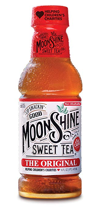 MOONSHINE SWEET TEA: Tea Clementine, 16 fo
