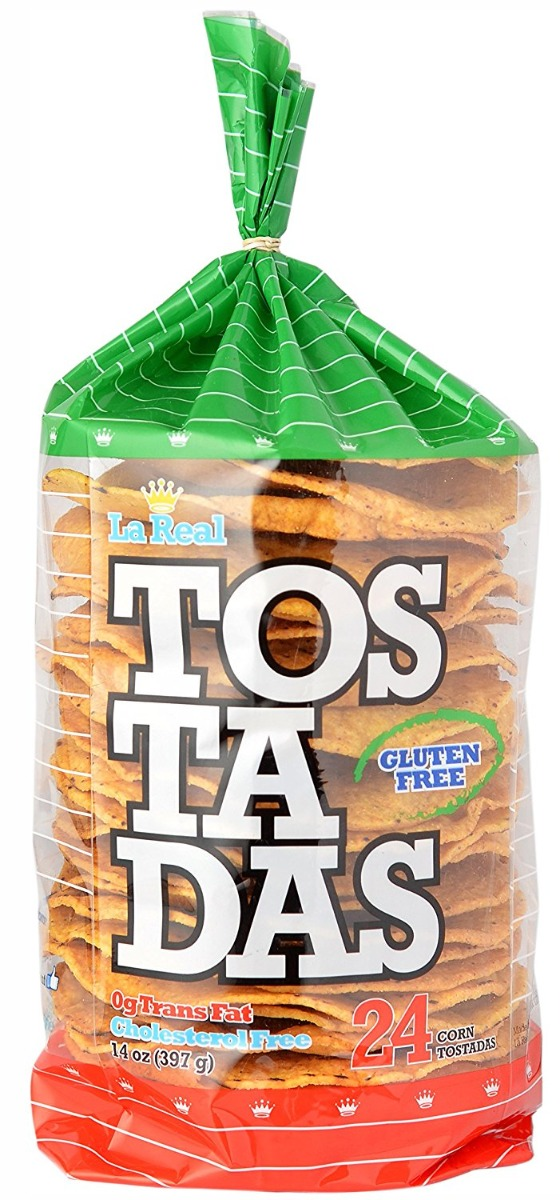 LA REAL: Tostadas Original, 14 oz