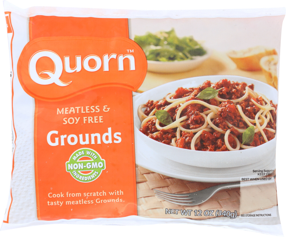 QUORN: Meatless And Soy Free Grounds, 12 oz