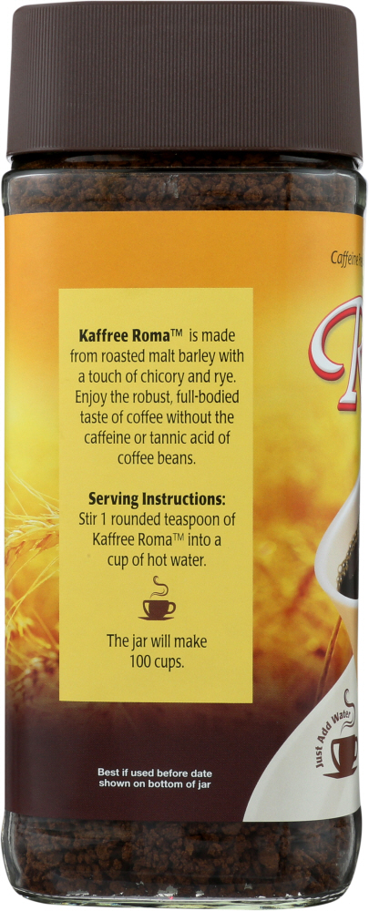 KAFFREE ROMA: Instant Roasted Grain Beverage, 7 oz