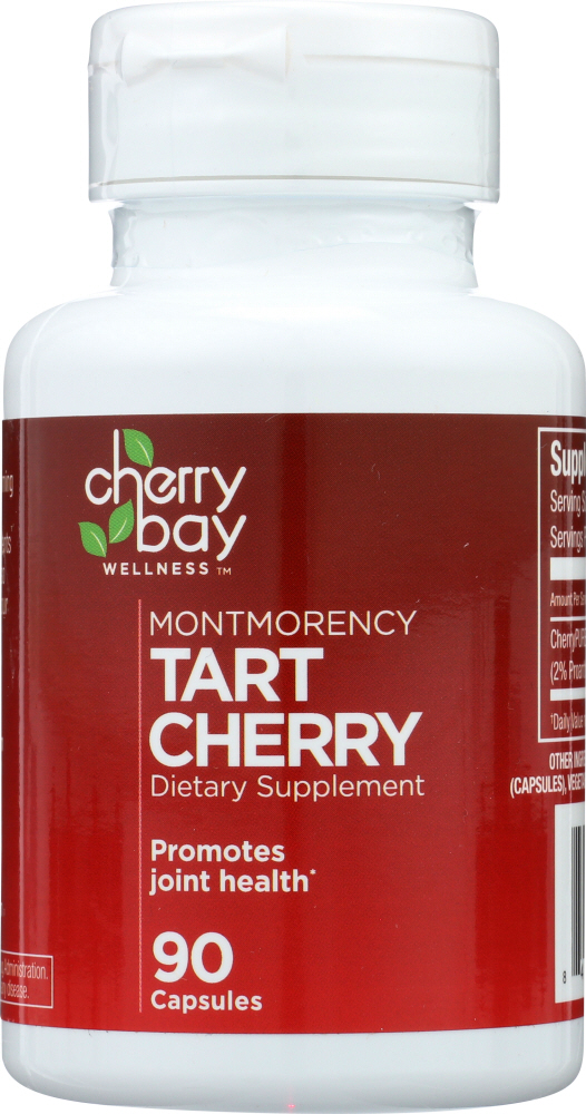 CHERRY BAY WELLNESS: Tart Cherry Dietary Supplement, 90 cp