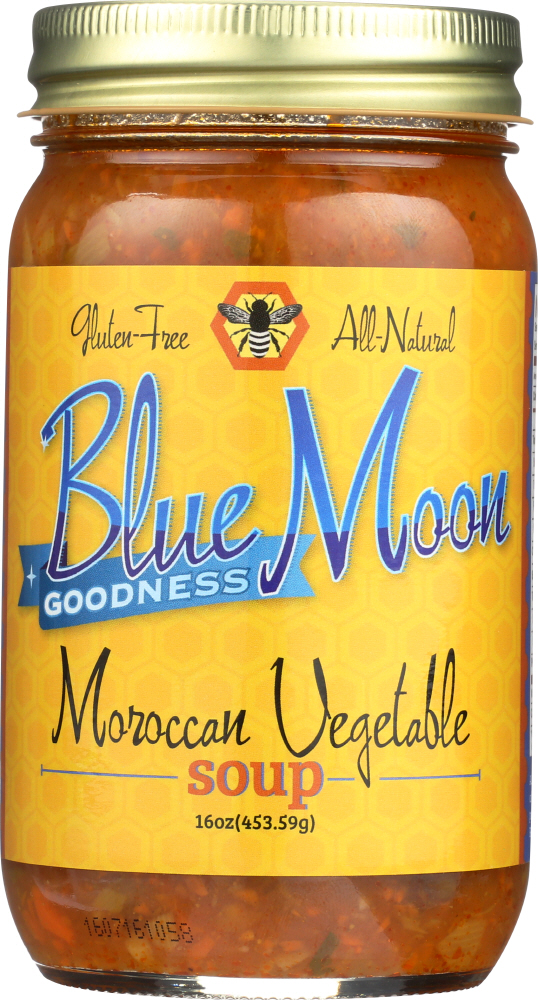BLUE MOON GOODNESS: Soup Vegetable Moroccan, 16 oz