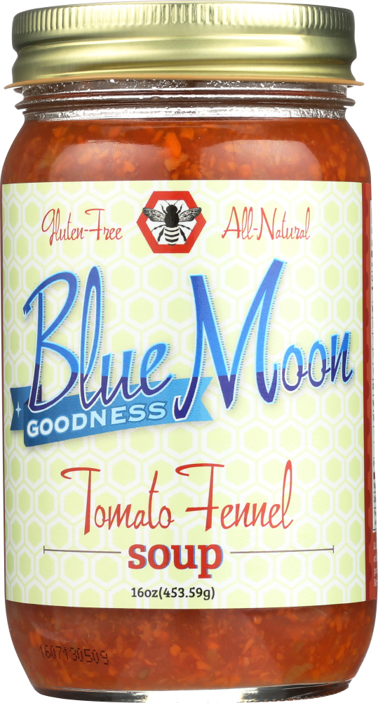 BLUE MOON GOODNESS: Soup Tomato Fennel, 16 oz
