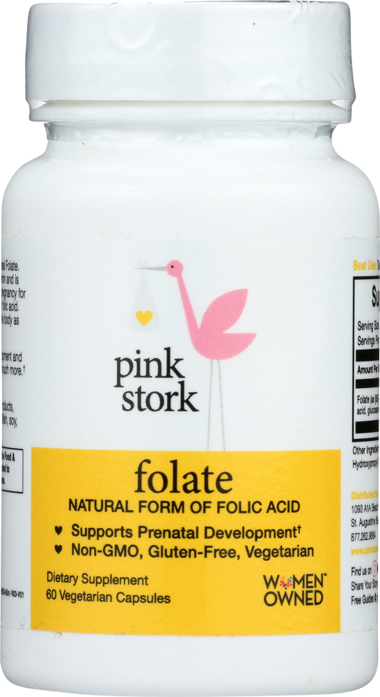 PINK STORK: Folate Supplement, 60 cp